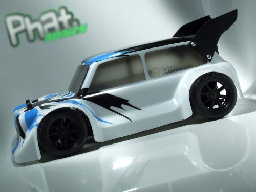 Image of Phat Bodies - BANZAI MINI Bodyshell for Losi Mini 8ight, Associated Reflex 14B, LC Racing EMB-1