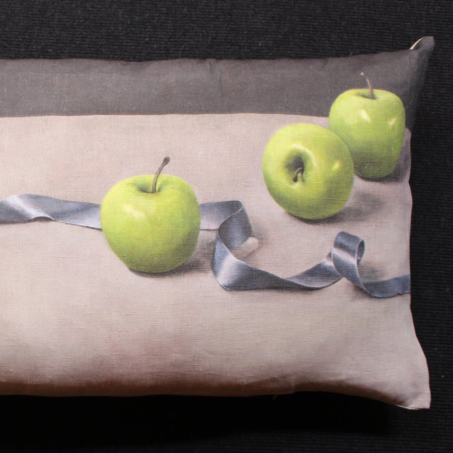 Image of Apples and Ribbon - Bolster