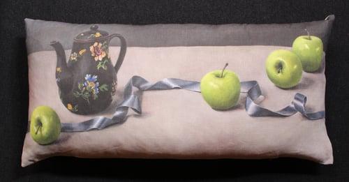 Image of Apples and Ribbon - Bolster