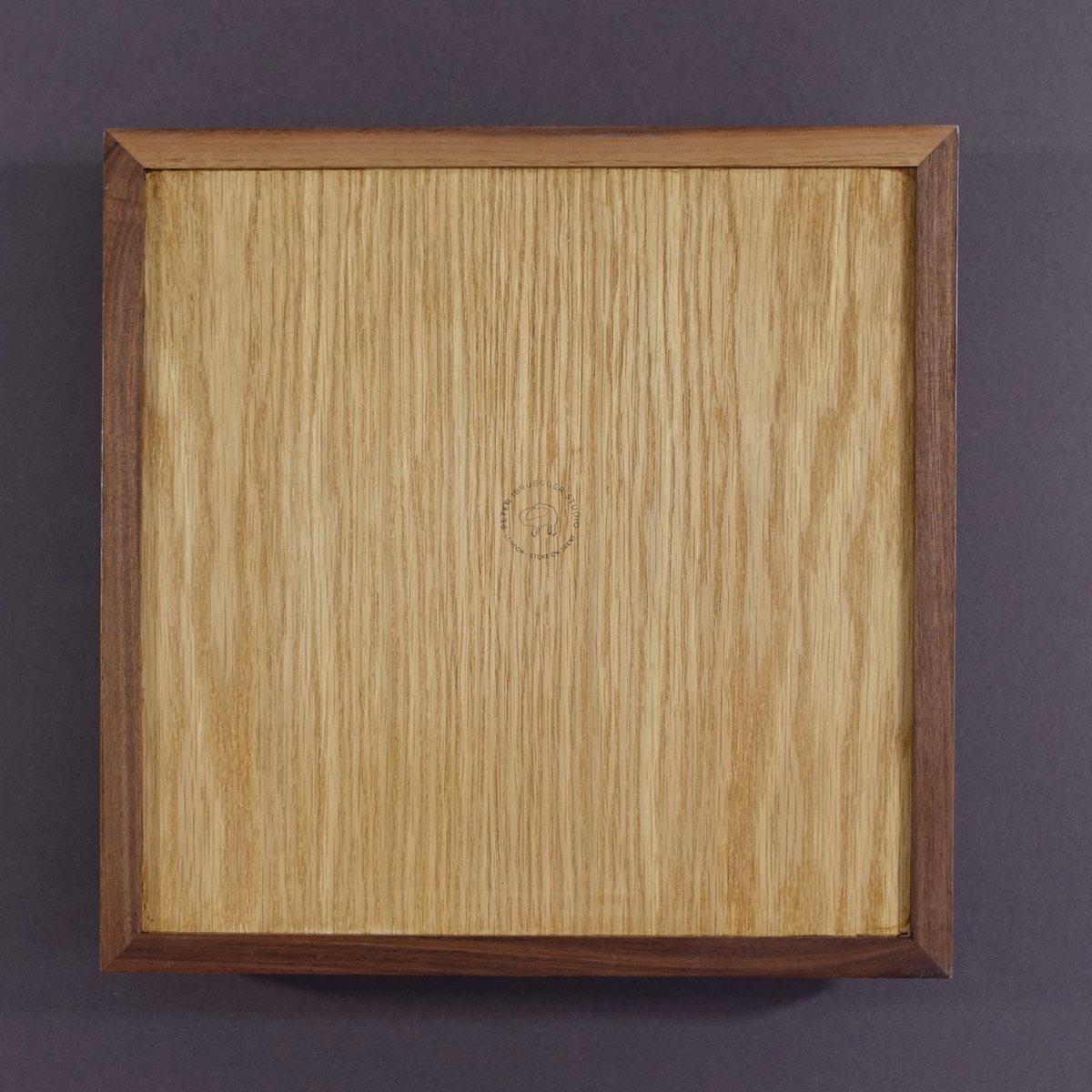 Image of Ouroboros tiled Walnut Tray 04