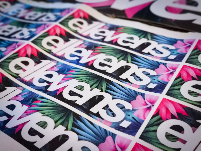 Image of Printed E11evens stickers