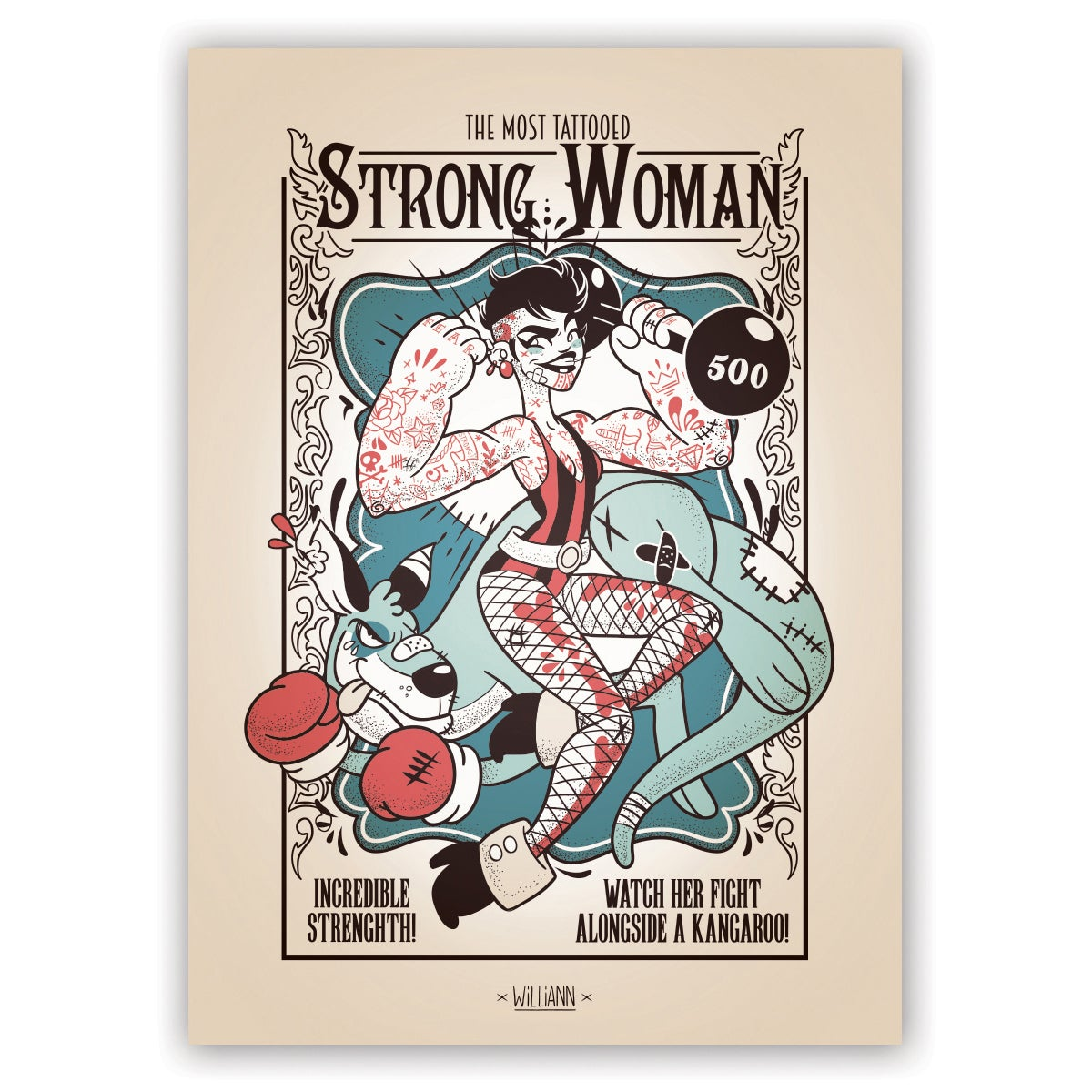 Image of The Most Tattooed Strong Woman
