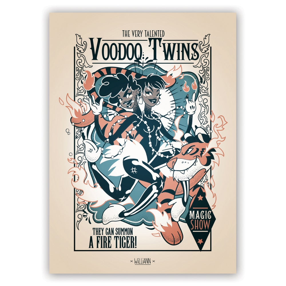 Image of The Very Talented Voodoo Twins