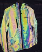 Image of Official RFLCTIV Squid Ink Dichroic Reflective Jacket