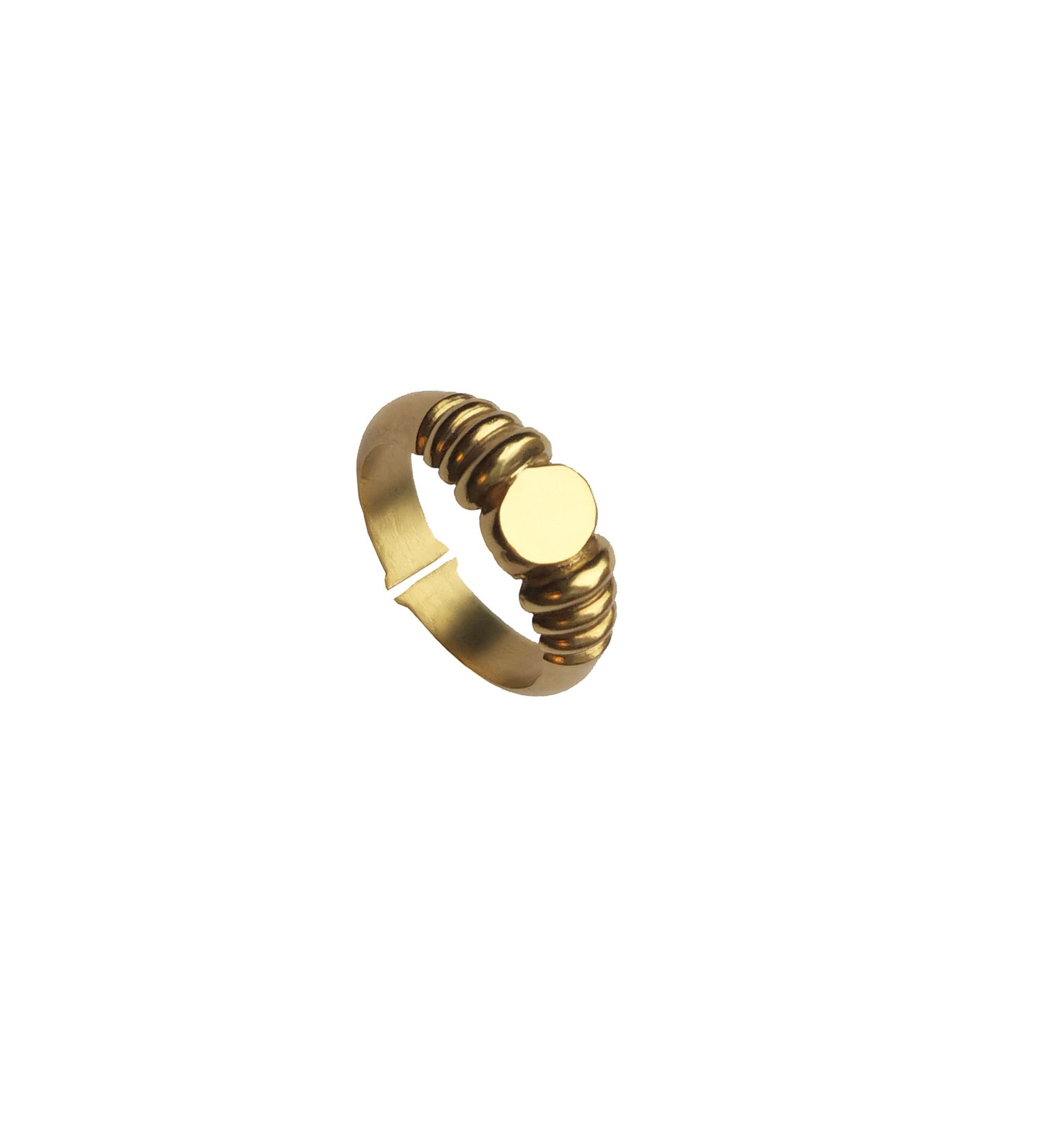 Image of Finials Ring  14kt