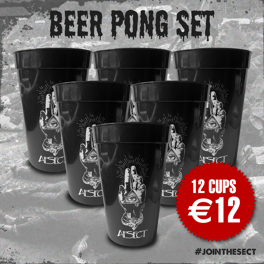 Image of AeSect Keep Cup beer pong set