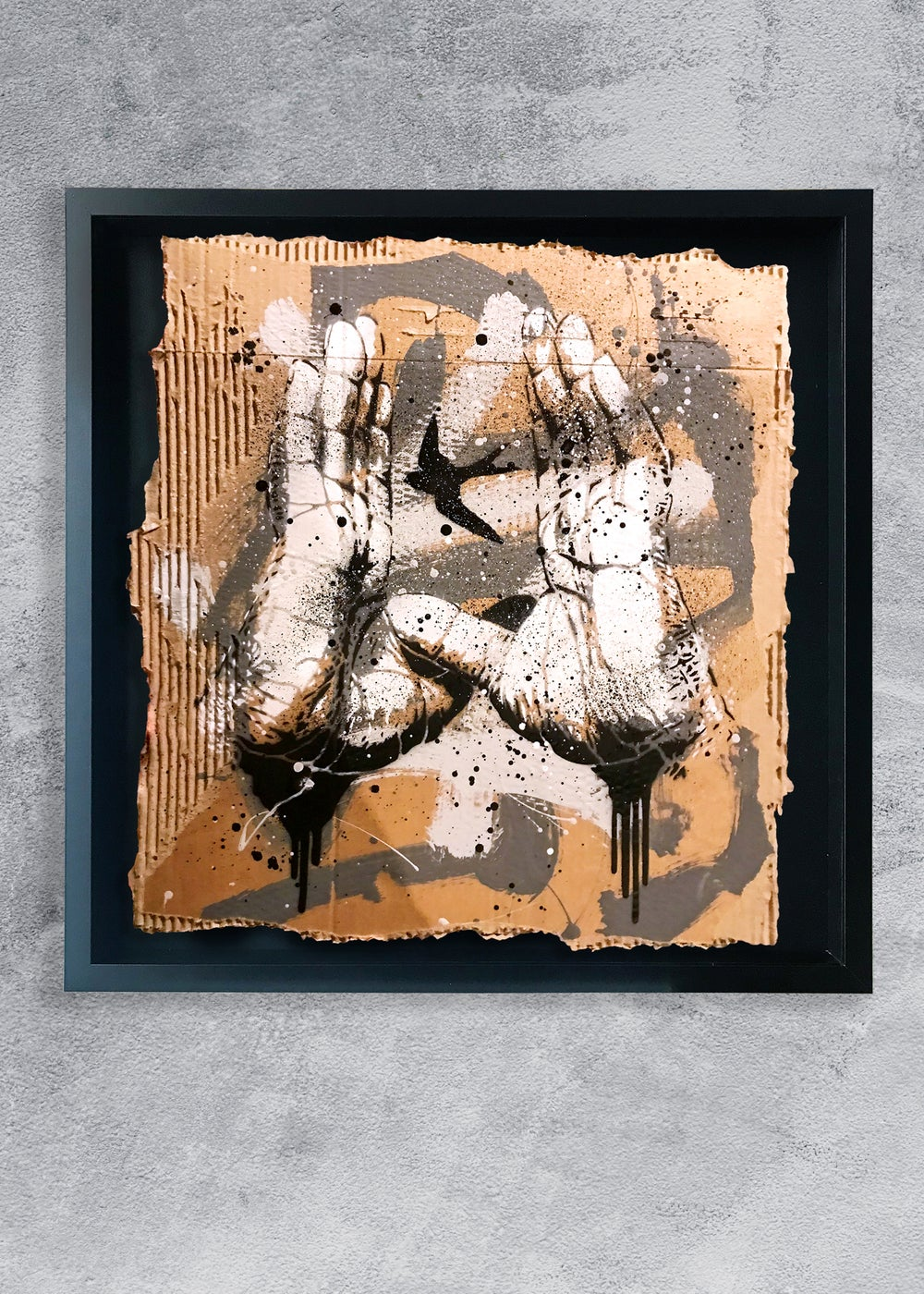Image of STENCIL STUDIES / IN YOUR HANDS #1