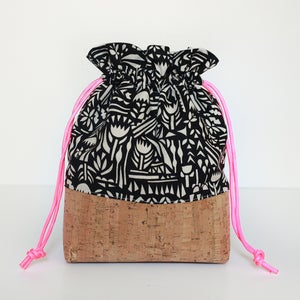 Image of Lined Drawstring Bag Expansion PDF Pattern