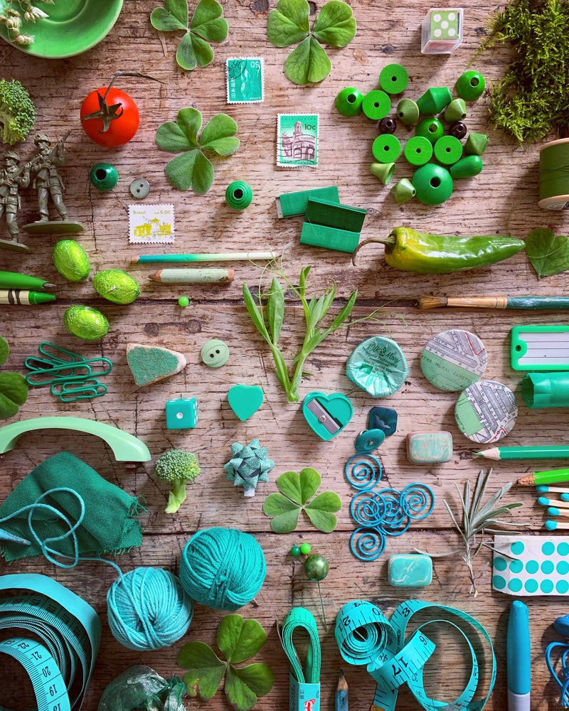 Image of 5ftinf 'Green Collection' Jigsaw Puzzle