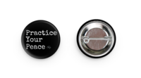 Image of Message Button: Practice Your Peace