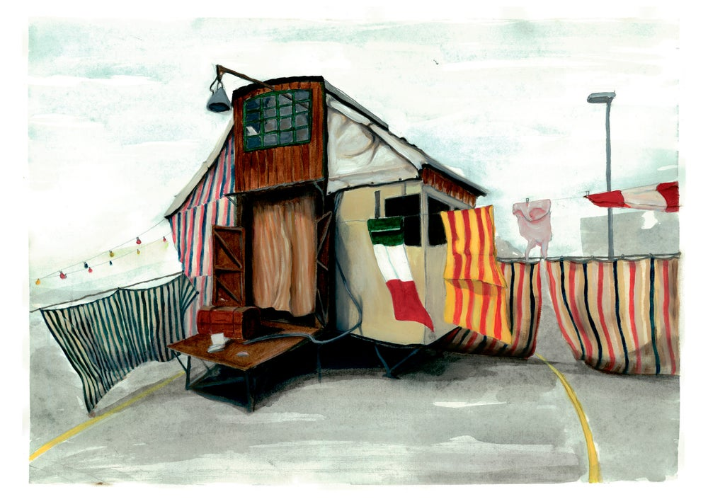 Image of Home of clowns - Limited edition Print