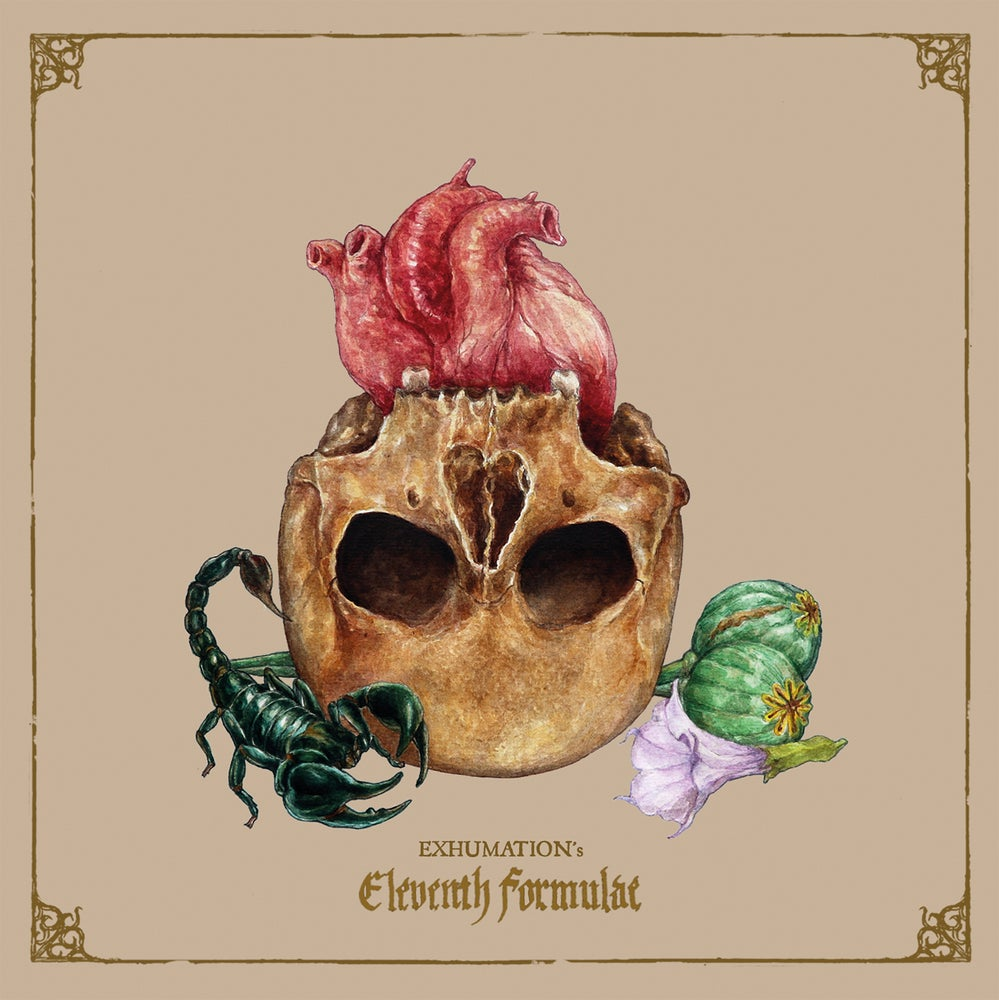 "Image of EXHUMATION ""Eleventh Formulae"" CD"