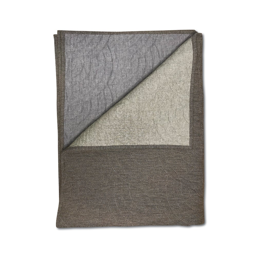 Image of RYE® QUILTED BLANKET MOCCA