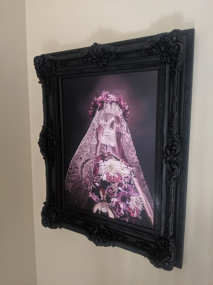 Image of Framed Evermore mono print