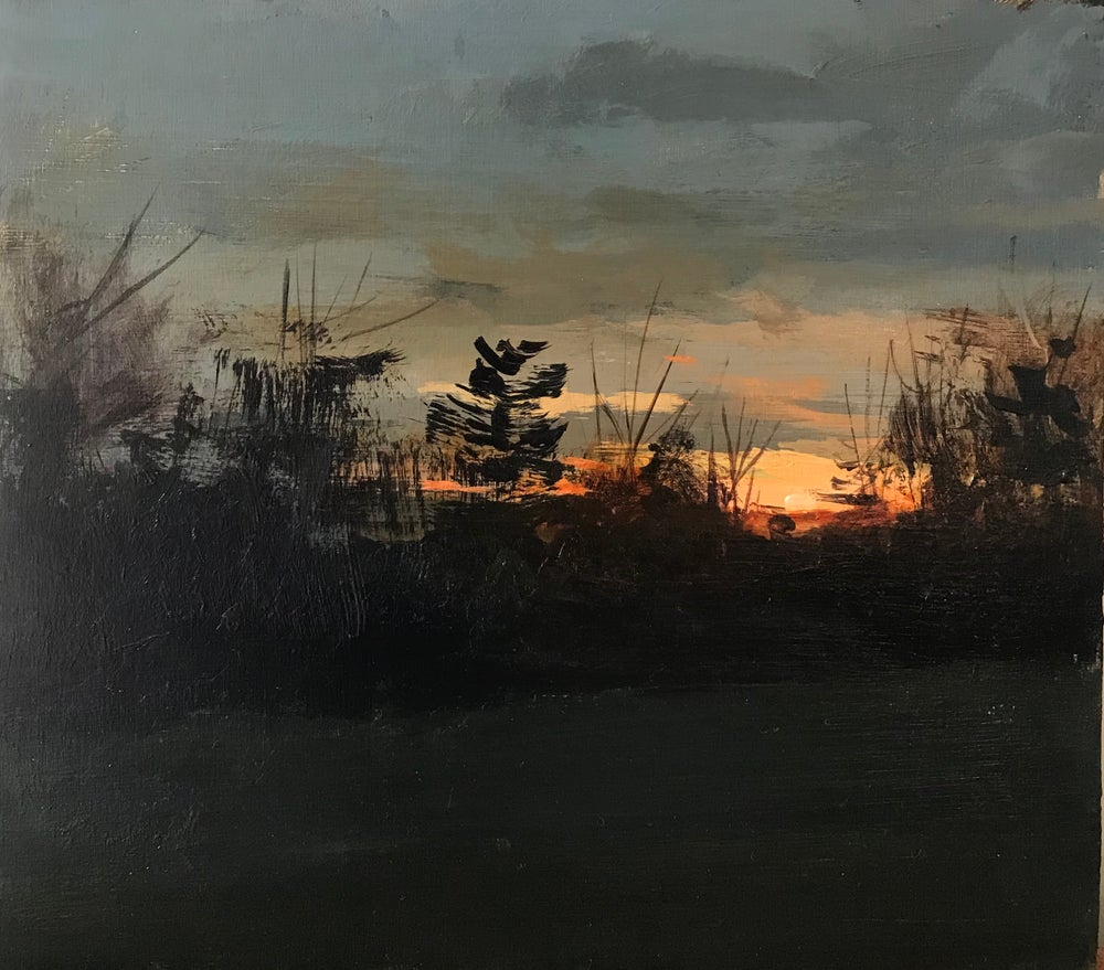 Image of Sunset sketch 4