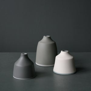 Image of Bud vases with layered bases