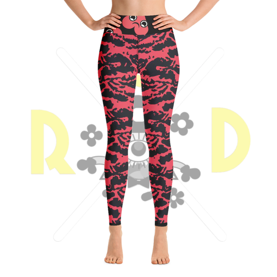 Image of RED TIGER YOGAPANTS