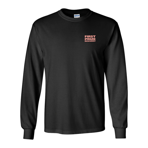 Image of First Prize Bravery Black Long Sleeve