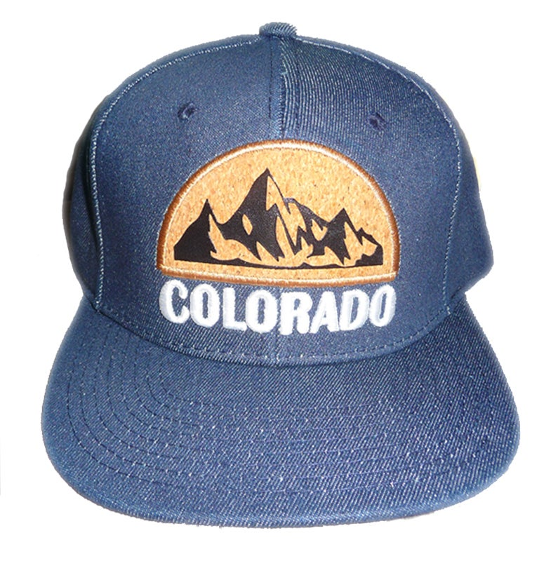 Image of COLORADO DENIM CORK LOGO SNAPBACK HAT