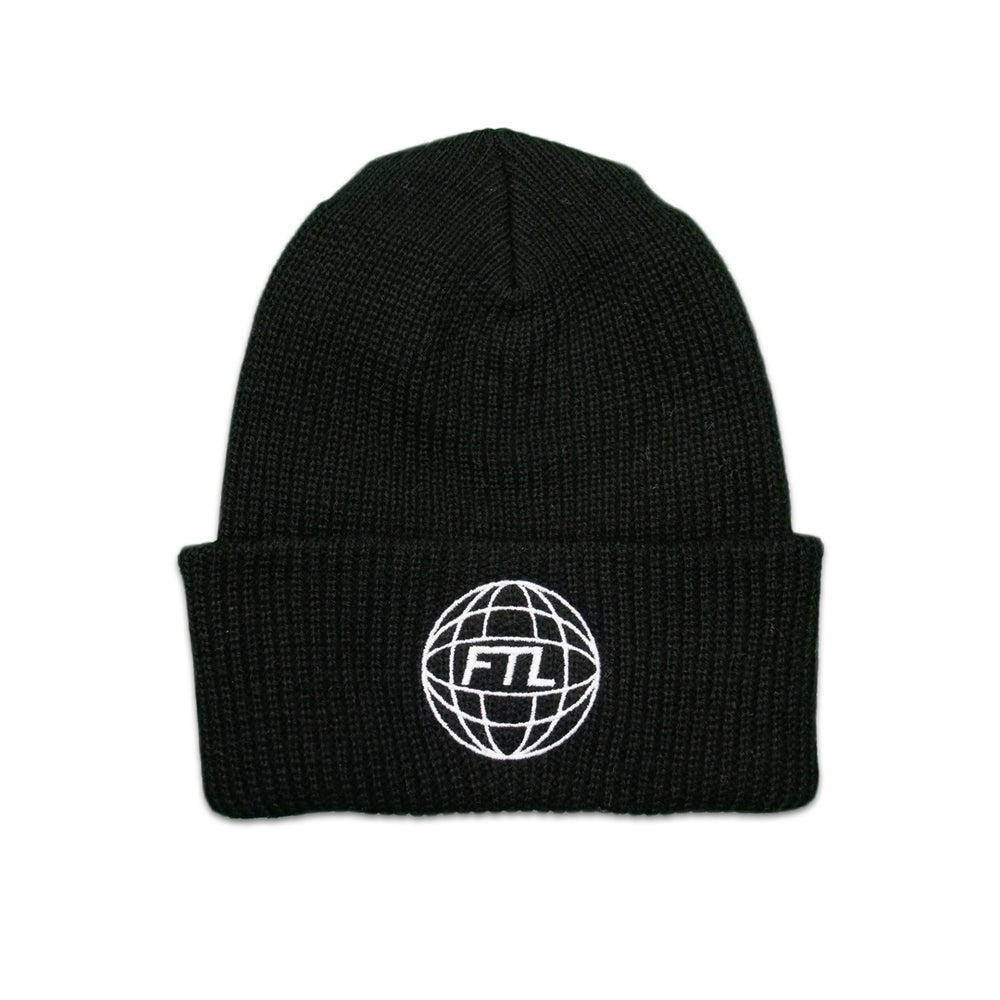 Image of FTL World Beanie (Black)