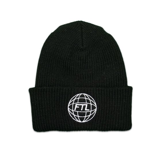 Image of FTL World Beanie (Black)