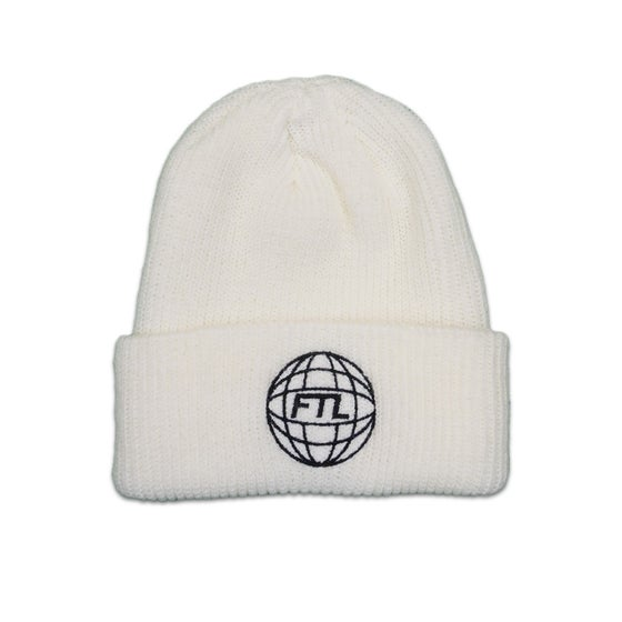 Image of FTL World Beanie (White)