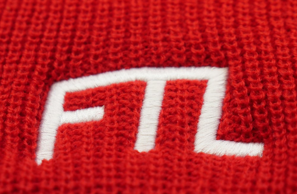 Image of FTL OG Beanie (Red)