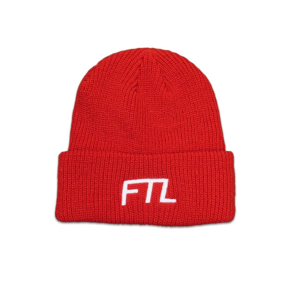 Image of FTL OG Beanie (Red)