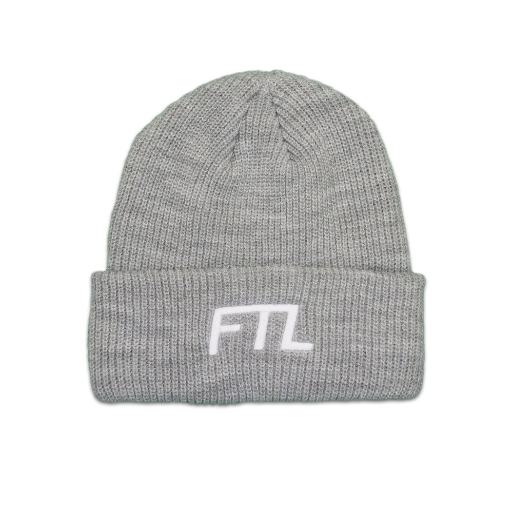 Image of FTL OG Beanie (Grey)