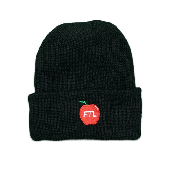 Image of Big Apple Beanie (Black)