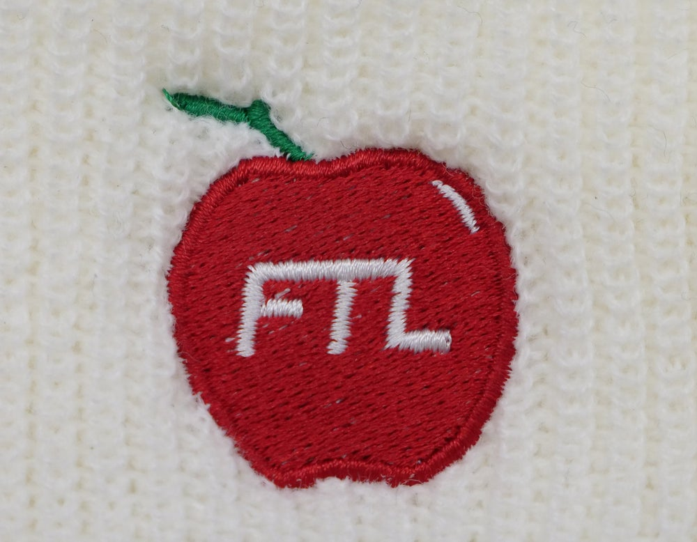 Image of Big Apple Beanie (White)
