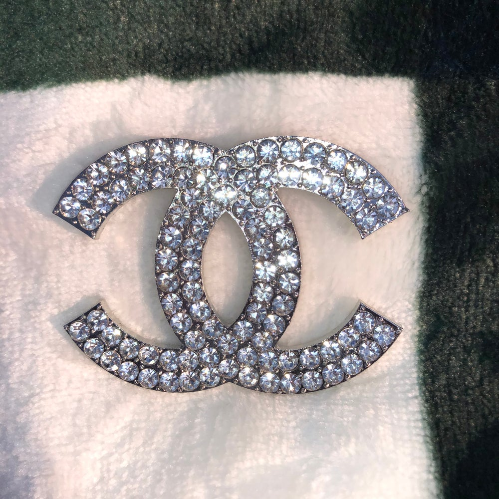 Image of Double C Brooch