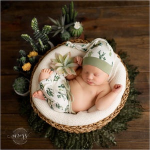 Image of Round Curly Blanket - Forest Green