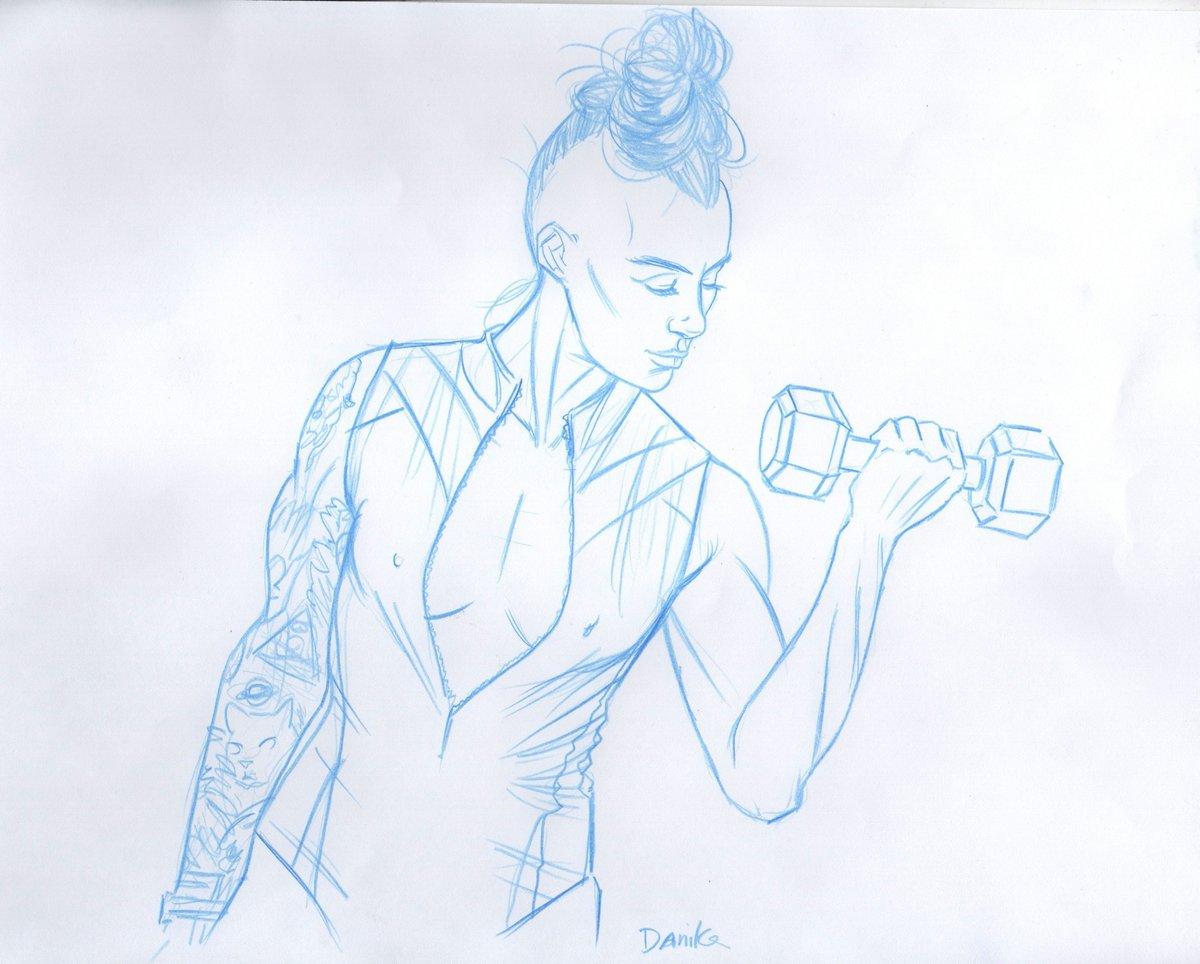 Image of 2020 Drawn to Life Calendar: Tough Girl 2