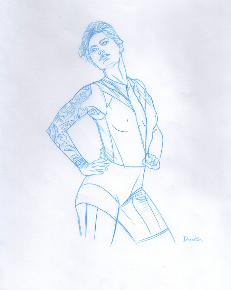 Image of 2020 Drawn to Life Calendar: Tough Girl 4
