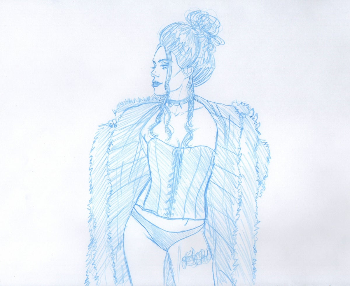 Image of 2020 Drawn to Life Calendar: The Black Queen 1