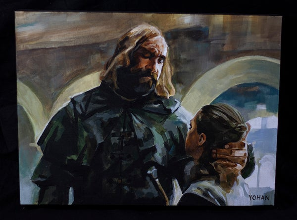 Image of Arya and The Hound