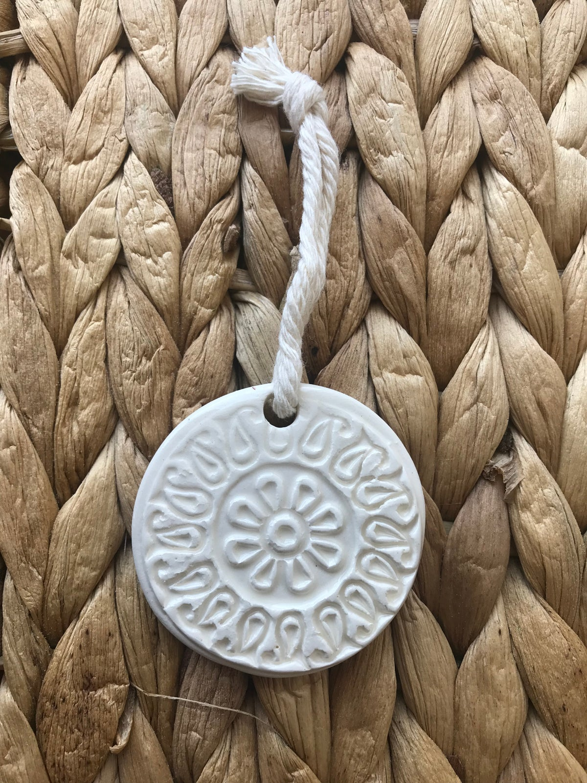Embossed Ornament