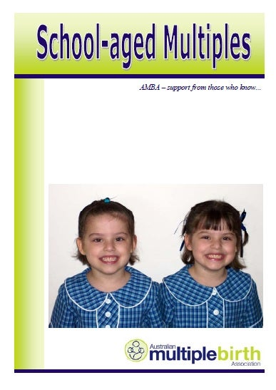 Image of School-Aged Multiples