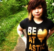Image of Gold Heart Tshirt