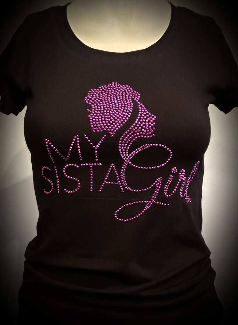 Image of My Sista Girl Blng Tee - Purple