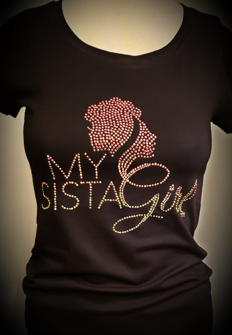 Image of My Sista Girl Bling - Pink and Green (AKA)