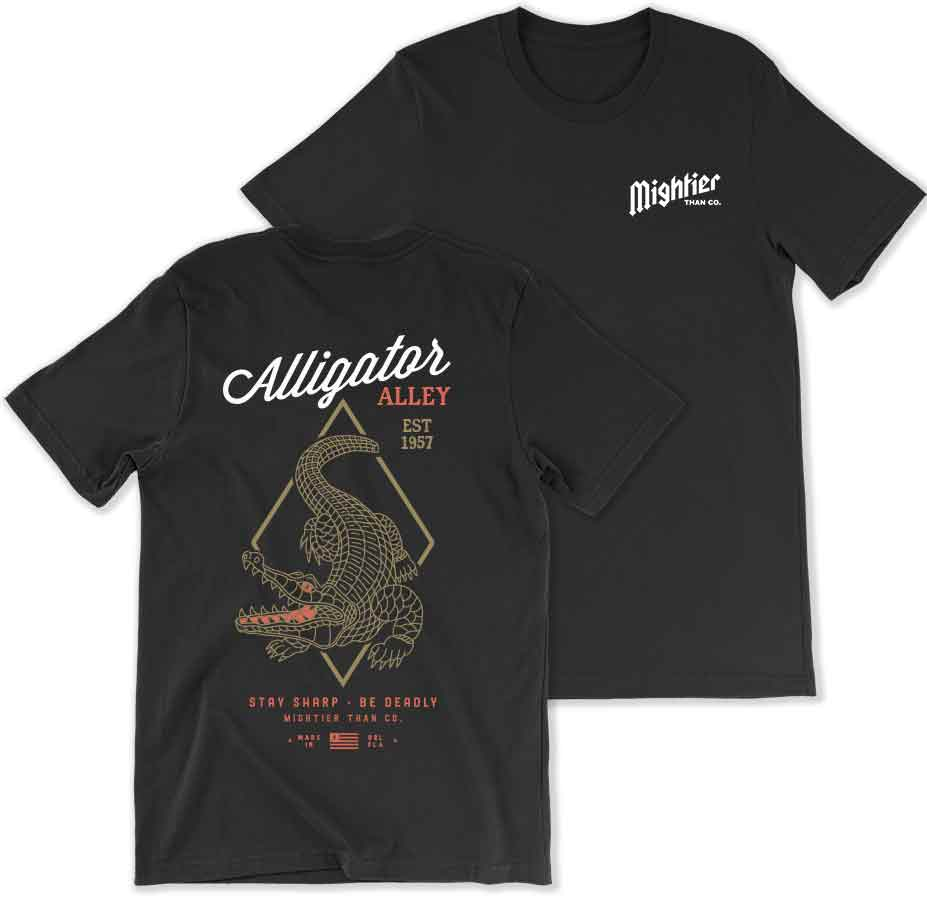 Image of Alligator Alley - T-shirt