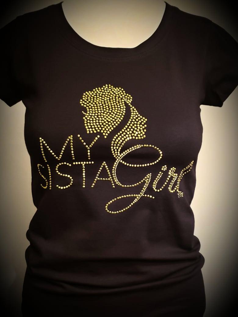Image of My Sista Girl Bling - Lt. Green