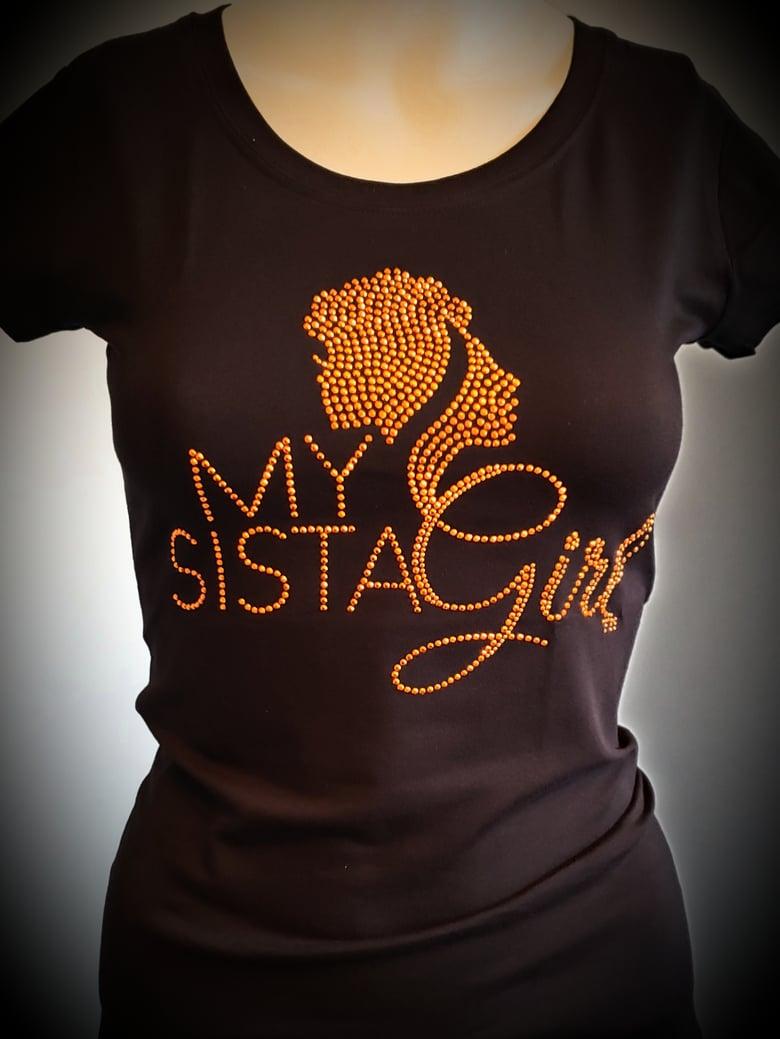 Image of My Sista Girl Bling - Orange