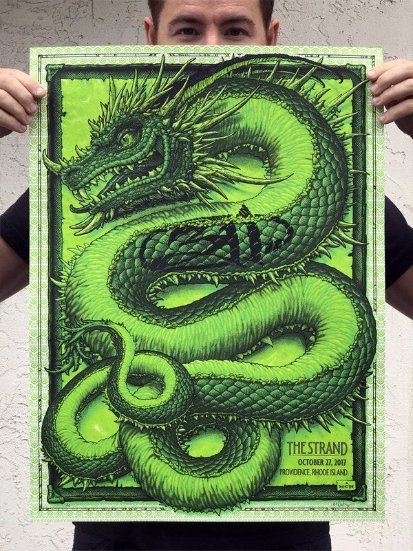 Image of 311 October 27, 2017 at The Strand gig poster