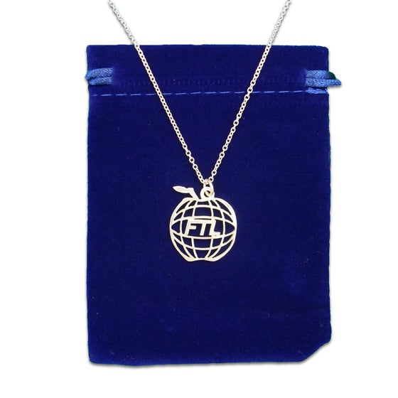 Image of Apple World Necklace