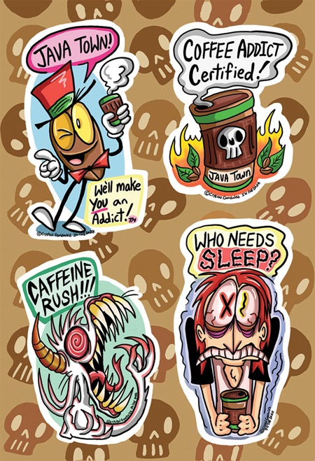 Image of Coffee Time! -Sticker Sheet