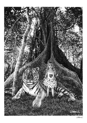 Image of TIGER & GIRL poster print