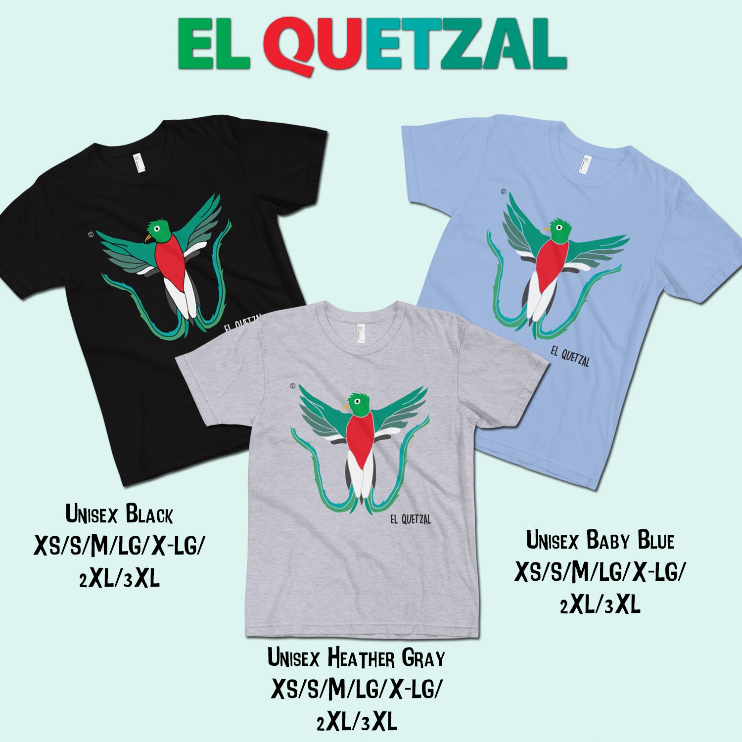 Image of El Quetzal T-Shirt 01